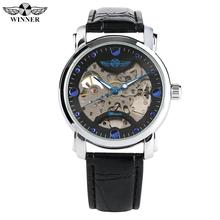 Luxury Skeleton Automatic Mechanical Watches for Men Stainless Steel Case Mechanical Watch for Teenagers Gift Watch Gift for Boy цена в Москве и Питере
