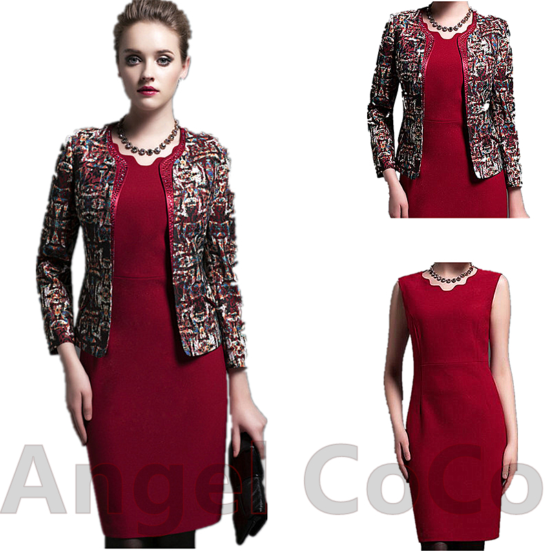 Online Get Cheap 2 Piece Jacket Dress -Aliexpress.com | Alibaba Group