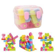 Новое поступление пластиковые блоки игрушки для Рождественский подарок
