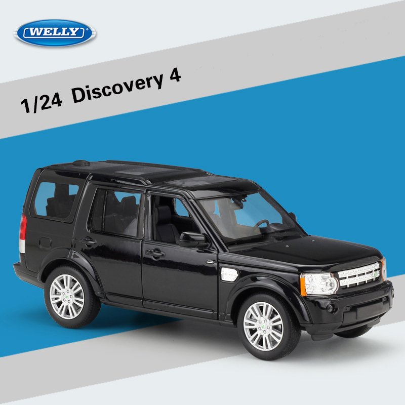 Buick Hybrid Suv: Welly 1:24 Discovery 4 SUV Toy Vehicles Alloy Car Model