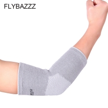 цена на FLYBAZZZ 1PCS Elbow Brace Support Sport Safety Elbow Protector Protection Elastic Bandage Lengthen Absorb Sweat Elbow Pads Guard