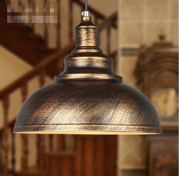 Original Edison Bulb Freely Creative restaurant Vintage simplicity iron Lamp Staircase lamp Industrial new bronze Pedant Light