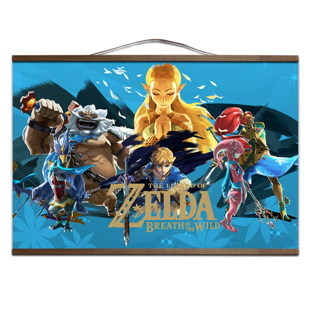 The Legend Of Zelda Breath Of The Wild Game Poster Decoration
