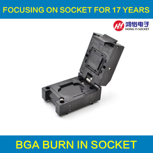 BGA series burn in test and programming socket test BGA package IC chips by this link can help you find BGA clamshell adapter цена в Москве и Питере