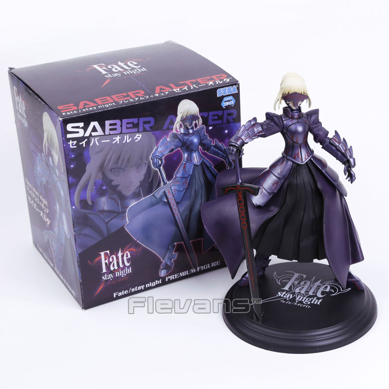 SEGA Fate stay night Saber Premium Figure Collectible Model Toy 24cm fate stay night fate extra red saber pvc figure toy anime collection new