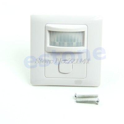 New IR Infrared Motion Sensor Automatic Light Lamp Switch 200V-250V ACNew IR Infrared Motion Sensor Automatic Light Lamp Switch 200V-250V AC