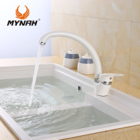 MYNAH Kitchen Faucet Mixer Water Tap Single Holder Single Hole Kitchen Grifo Rotation Rubinetto Cucina Faucets