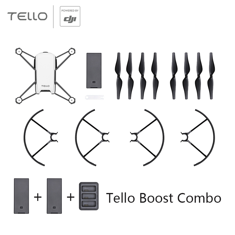 DJI Tello Mini Toy Drone Remote Control / Tello Drone / Boost Combo , with 720P HD Transmission Camera APP FPV Drones DJI Tech