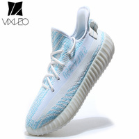 2019 NEW Fashion Men Casual Shoes KanyEs White Red Black Boosts 350 Fashion Air Breathable Unisex Shoes Free Shipping Size 36 45