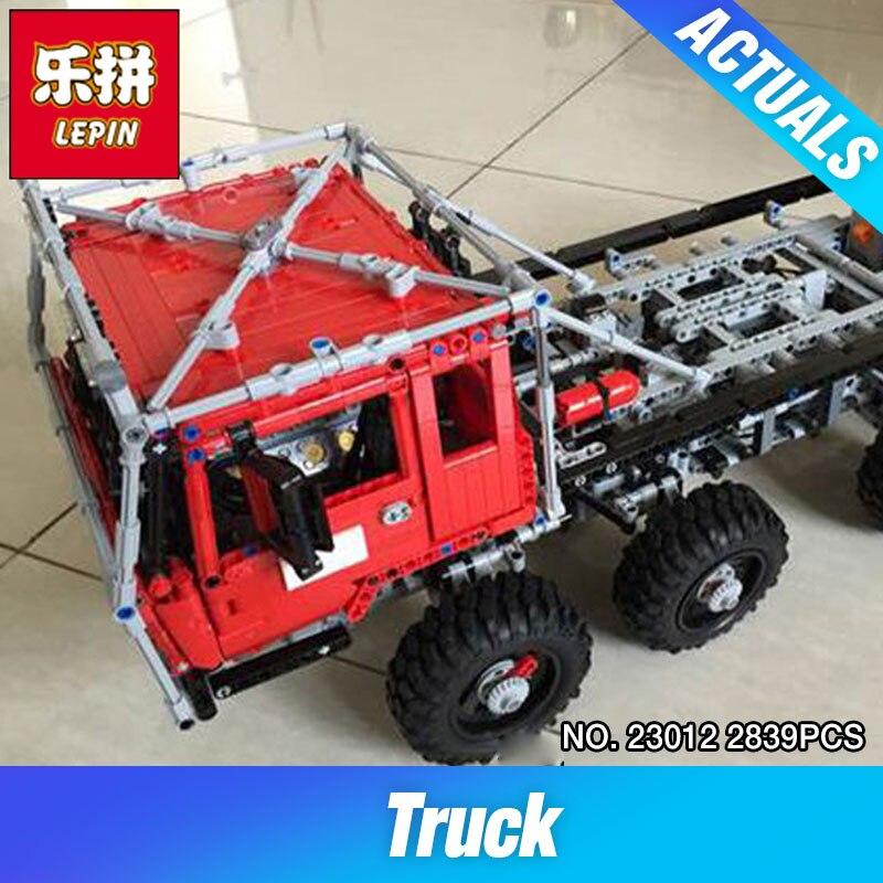 Lepin 23012 2839Pcs Genuine Technic Series The Arakawa Moc