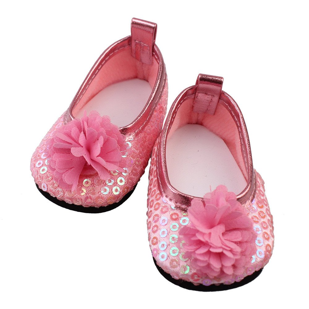 american girl doll clothes 18 inch sandals doll clothes baby born clothes 43cm Bjd Doll Shoes Zapf Dolls Accessories boots american girl doll clothes elegant color flower print long dress doll clothes for 18 american girl best gift 5 colors d 2
