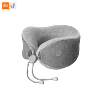 Xiaomi Mijia LF U Shape Neck Massage Pillow Relax Muscle Massager Release Pressure Help Sleep or office Car Home Travel Cover