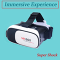 Upgraded VR BOX 2016 3D Glasses Virtual Reality Immersive Viewing Smart Bluetooth Gamepad 600 Myopia User Support lightweight