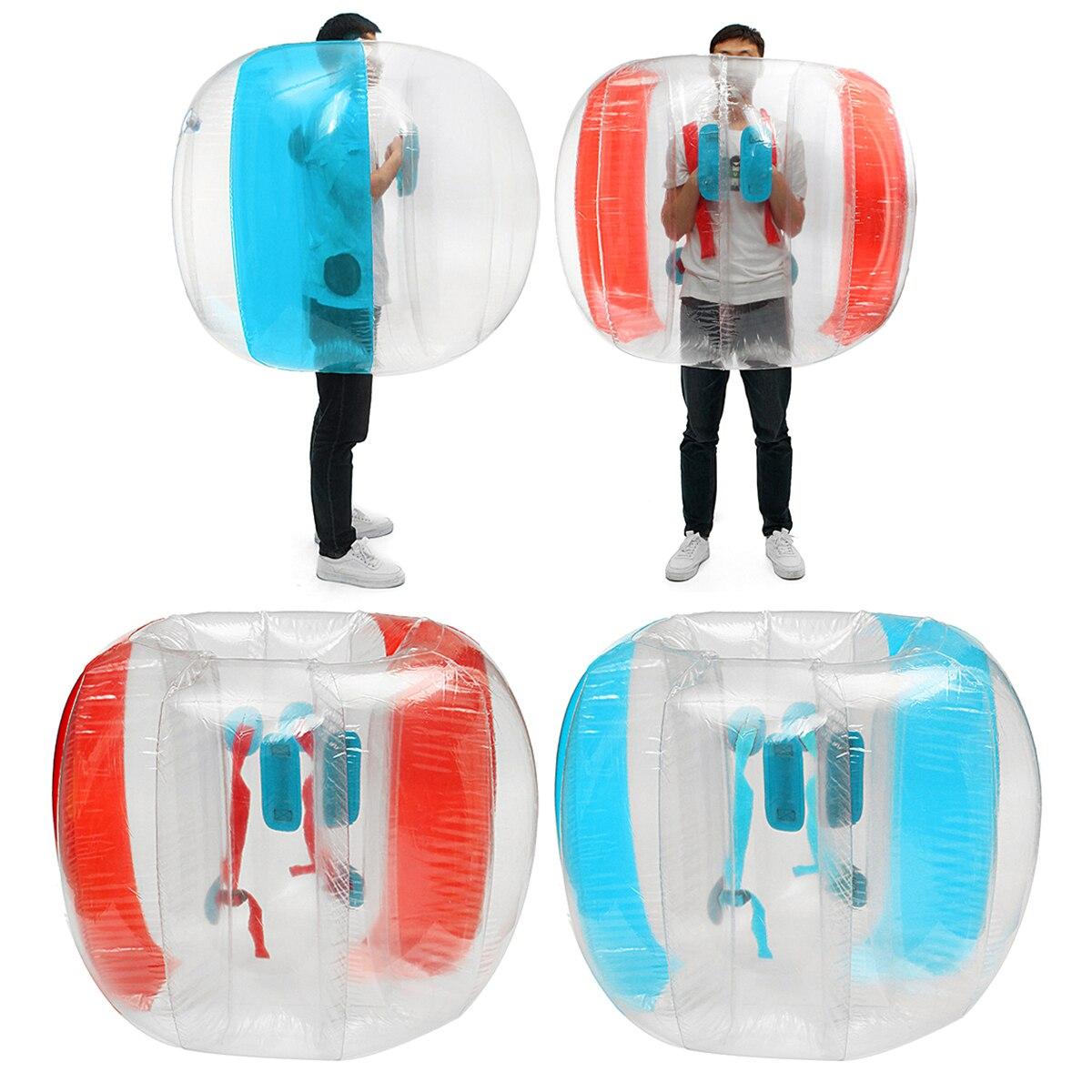 120 cm enfants gonflable balle pare-chocs Football Football en plein Air voyage parc jeu Air corps piscine corps Zorb bulle balle en plein Air jouets