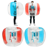 120cm Kids Inflatable Bumper Ball Football Soccer Outdoor Travel Park Game Air Body Pool Body Zorb Bubble Ball Outdoor Toys