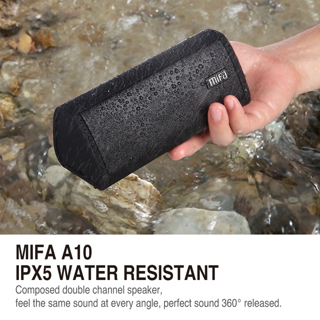Mifa Portable Bluetooth speaker Portable Wireless Loudspeaker Sound System 10W stereo Music surround Waterproof Outdoor Speaker 1