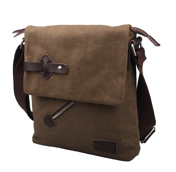 ФОТО Hot new 2016 fashion casual mens vintage bag men's canvas bags men's messenger bags corssbody shoulder bags wholesale