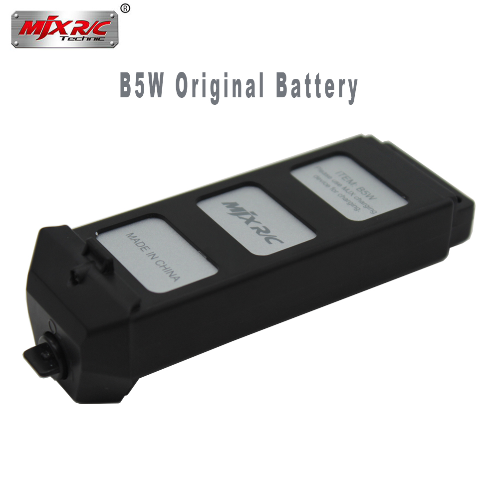 Original MJX R/C Bugs 5W B5W RC Helicopter battery 7.4V 1800mAH Li-Po Battery rc quadcopter drone spare parts accessories original upair battery for up air upair chase upair one rc quadcopter spare parts 11 1v 5400mah li po battery