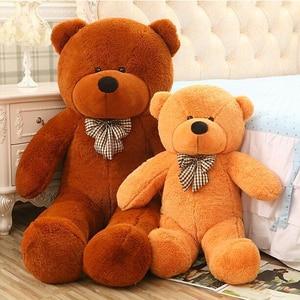 Image 3 - Große Größe 80 cm Gefüllte Teddybär Plüschtier Große Umarmungbärenpuppe Liebhaber/Weihnachtsgeschenke geburtstagsgeschenk