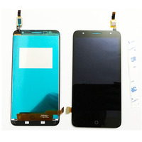 Black For Alcatel Pop 4 Plus OT5056 5056 5056A 5056D LCD Screen Touch Screen Display Digitizer Glass Assembly Repair Parts
