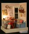 Бесплатная Доставка Diy кукольный ручной модель мини классический lampfoll кукольный дом игрушки
