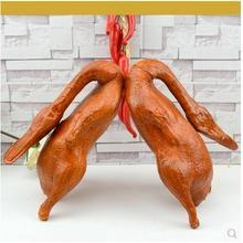 Миниатюры имитация искусственного большого жареного утки жаркое курица стол модельные украшения реквизит поставки