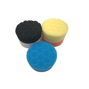 Image 2 - 5 pcs רכב ספוג ליטוש כרית שעווה עבור רכב לטש שעוות מרוט ליטוש ספוג יד כלי ערכת לשטוף אביזרי רכב