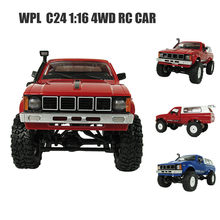 WPL WD 1:16 RC Crawler Military Truck Assemble Kit Remote Control Vehicle Toy Z514(China)
