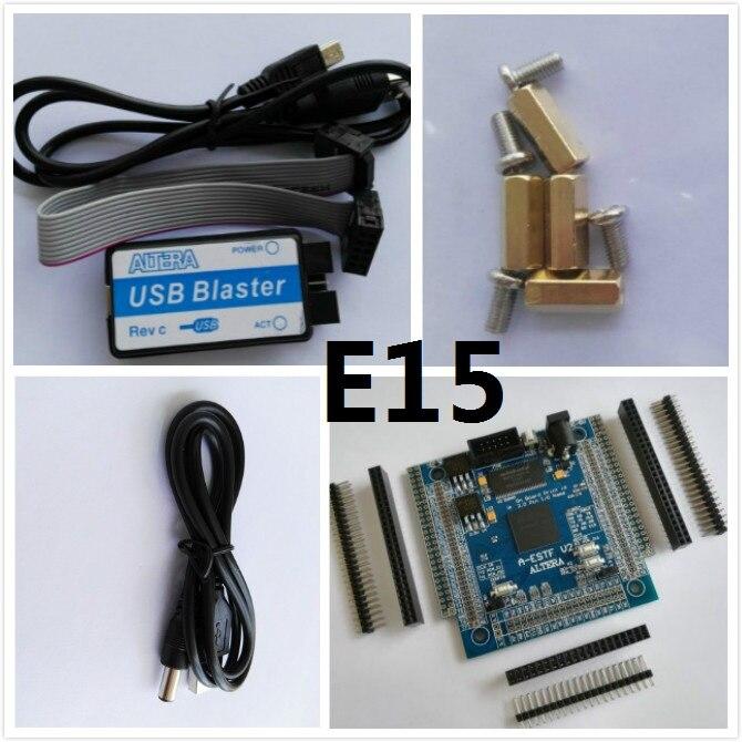E15 Free Shipping Altera Fpga Board Altera Board Fpga Development Board EP4CE15f17C8N NIOS II Board SDRAM