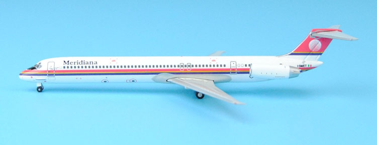 Special offer Gemi iJets 1: 400 GJISS1512 Meridiana MD-80 I-SMET Alloy aircraft model Collection model Holiday gifts gjiss1512 meridiana md 80 i smet 1 400 geminijets commercial jetliners plane model hobby