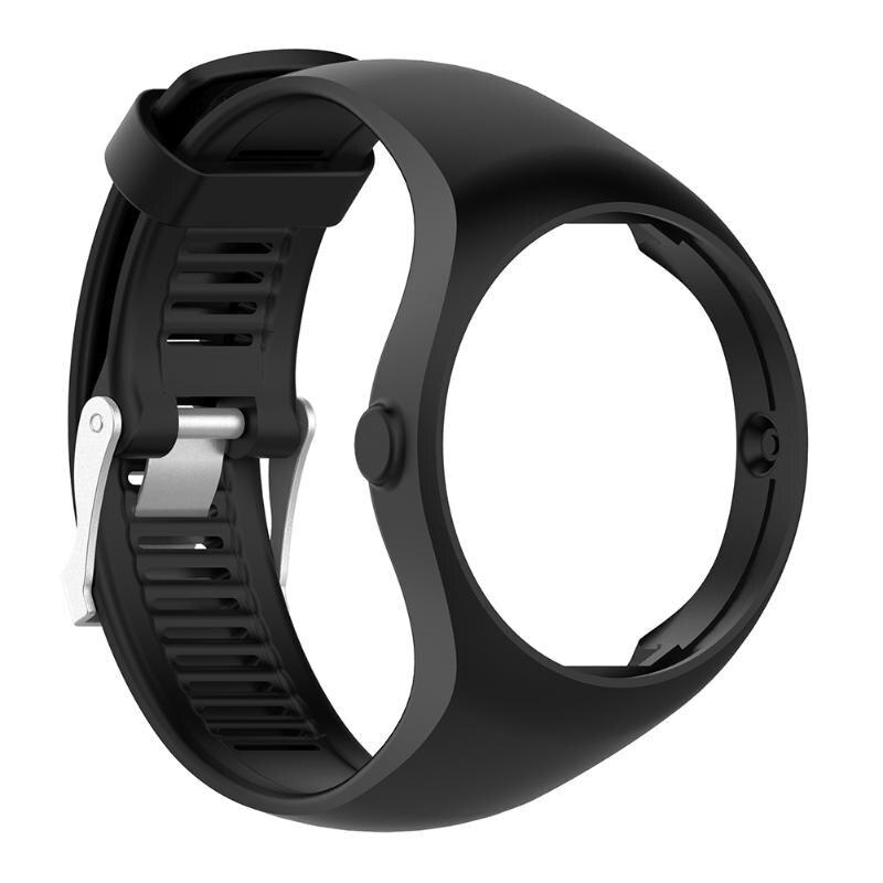 6 colores nueva pulsera brazalete Correa correa de reloj de repuesto para polar M200 reloj inteligente con hebilla