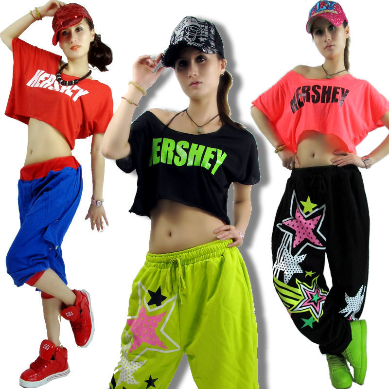 ds clothes hiphop hip hop hiphop female loose neon jazz costume hip hop top free shipping in. Black Bedroom Furniture Sets. Home Design Ideas