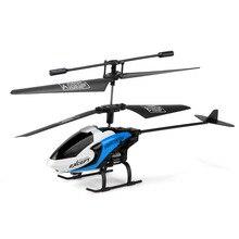 Новый Мини Беспилотный S126 2CH RC Пульт дистанционного управления Вертолетом Дети Подарок Мальчик Игрушка Бесплатная Доставка Синий