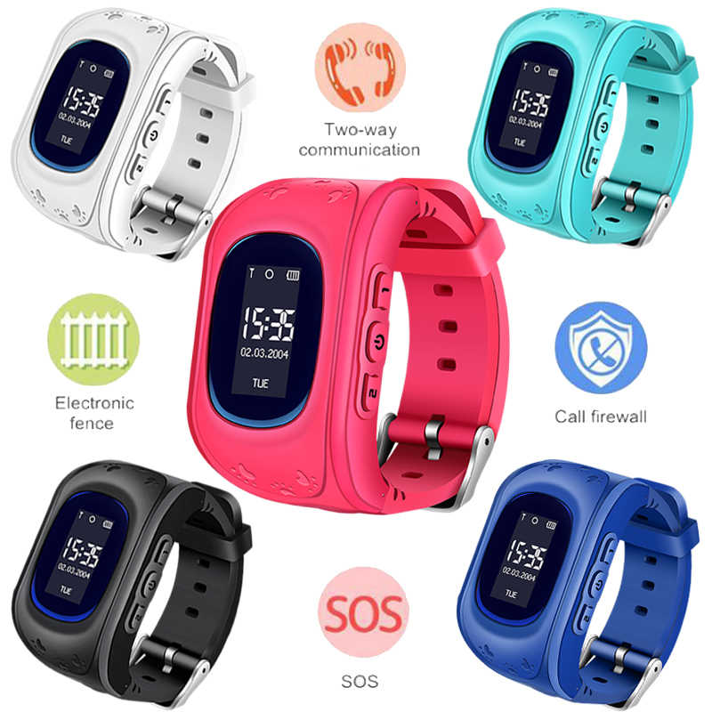 LIGE 2019 New Children Watches SOS Security Loss Prevention Kid GPS Smart Watch Remote Monitoring SmartWatch Relogio infantil