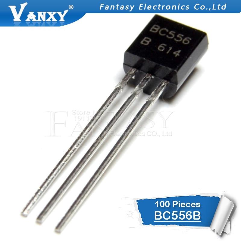 100PCS BC556B TO92 BC556 TO-92 NPN General Purpose Transistor New And Original IC