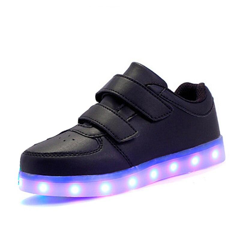 0916b81e Eur25-37/USB светящиеся кроссовки Basket LED Детская обувь освещения с  подсветкой красовки светящиеся кроссовки для мальчиков and для девочек |  Кроссовки с ...