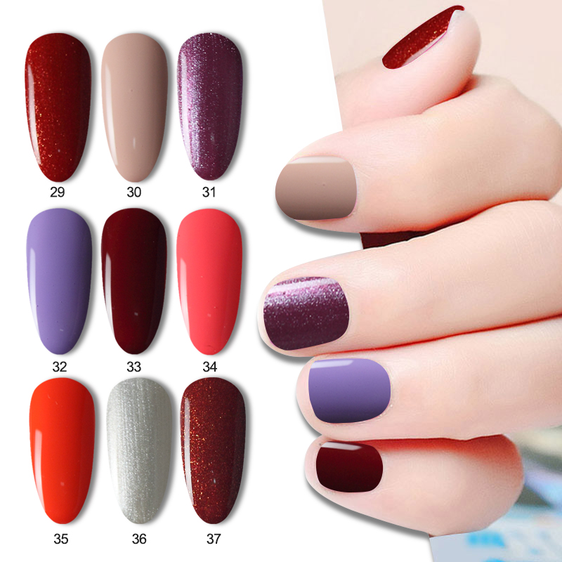 DIY nail polish gel UV gel paint LED 8.3ml nail stickers flashing stickers nail products free to choose the color жидкость domix green professional nail gel polish remuver