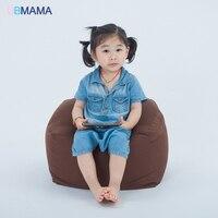 Small children lazy bean bag chair sofa sofa seat stool baby nursery bag slip detachable children sofa 0.5MM particle foam sofa
