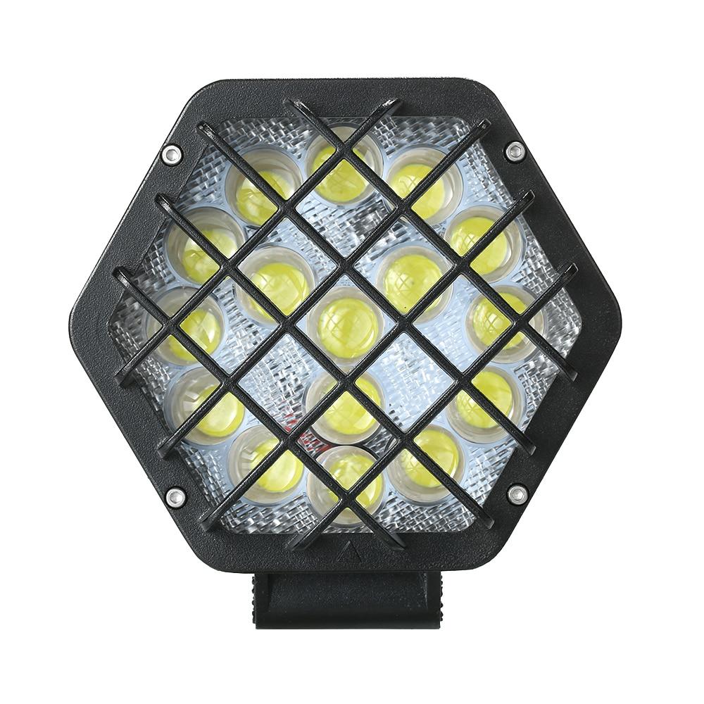 1 шт. Auto High Яркость светодиодные огни автомобиля крыши свет лампы изменение света открытый приключения лампа для внедорожных транспортных с...
