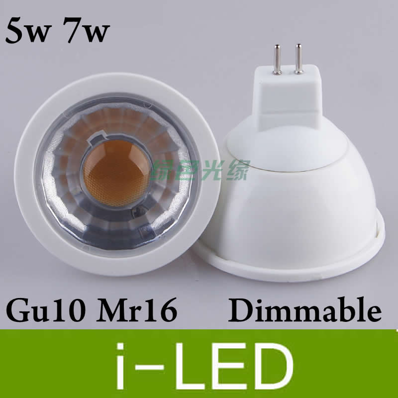 high color led dimmable spotlight 5w 7w gu10 mr16 e27 e11 led lights lamp bulb 110v