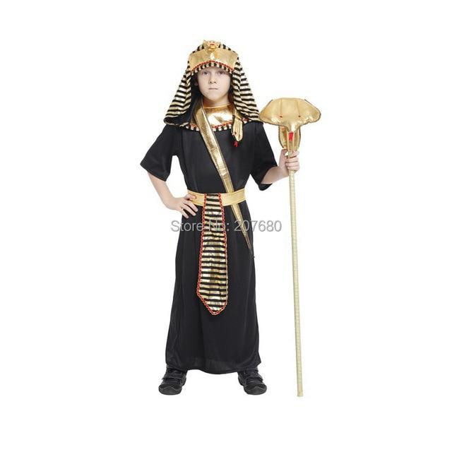 043be9ada الأولاد المصرية فرعون الملك حفلة تنكرية كتاب الاسبوع زي الاطفال الأطفال الزي