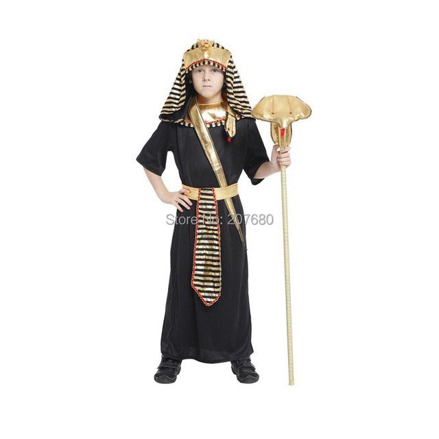 Boys Egyptian Pharaoh King Fancy Dress Book Week Costume Kids Party Child Outfit  sc 1 st  AliExpress.com & Boys Egyptian Pharaoh King Fancy Dress Book Week Costume Kids Party ...