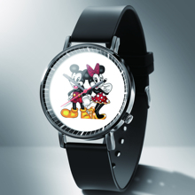 Quartz Watches Mouse-Pattern Mickey Fashion Luxury Brand Cartoon Reloj Mujer Girls Kids