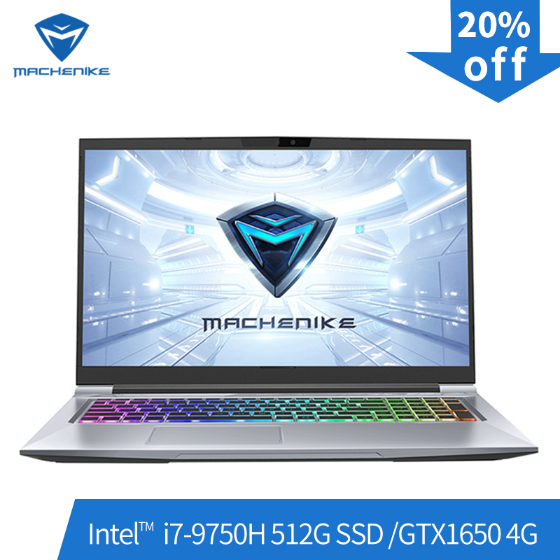 Machenike T90-PLus-TB1 gaming laptop (Intel Core i7-9750H + GTX1650 4G/8GB di RAM/512G SSD /17.3 ''144Hz) machenike-brande notebook