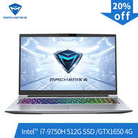 Machenike T90-PLus-TB1 gaming laptop (Intel Core i7-9750H+GTX1650 4G/8GB RAM/512G SSD/17.3''144Hz ) Machenike-brande notebook