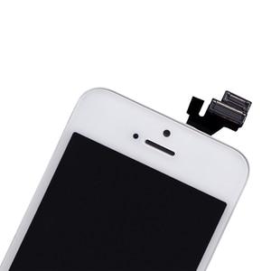 Image 3 - AAA جودة LCD آيفون 5 5C 5s SE استبدال شاشة عرض محول الأرقام شاشة تعمل باللمس الجمعية آيفون 6 شاشة LCD