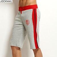 JOCKMAIL Brand Clothing 100 Cotton Men S Jogger Short Athletic Men S Sports Running Shorts Gym