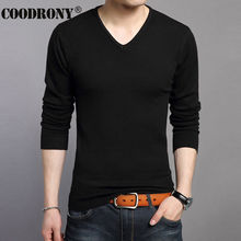 Free Shipping 2016 Autumn Winter Thick Warm Sweater Men Slim Fit V-Neck Sweater Men Christmas Solid Color Pullover Men OEM 66184