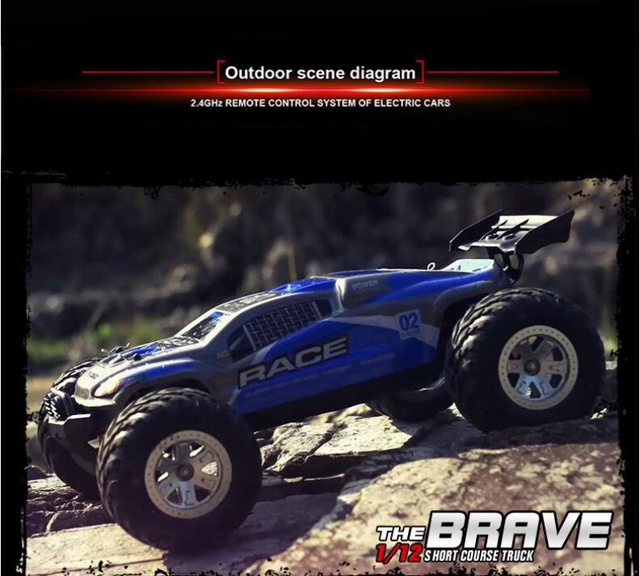 1/12 4WD High Speed Amphibious remote control RC Car FY10 High-performance water land Short Course RC Off-road Racing car toy 1