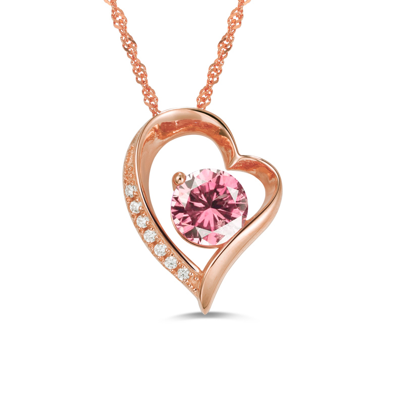 Wholesale Love Necklace Best Gift For Her Heart Pendant